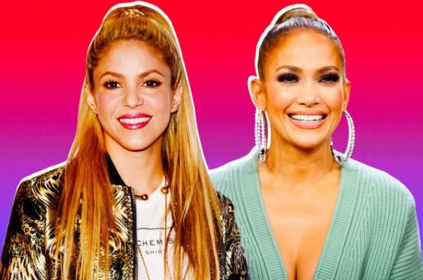 Super Bowl LIV Cleavage Prop Bet - J-Lo, Shakira