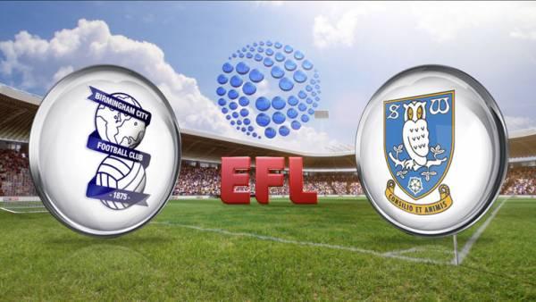 Sheffield Wednesday v Birmingham EFL Odds, Betting Tips - 10 February