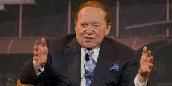 Is Sheldon Adelson Cozying Up to Legalize Sports Betting?