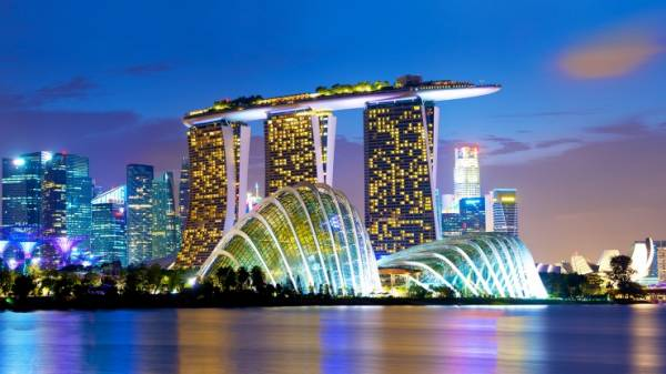 Casino Company Las Vegas Sands Announces Singapore Expansion