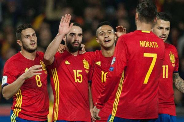 Bet Spain to Win the 2018 FIFA World Cup Online