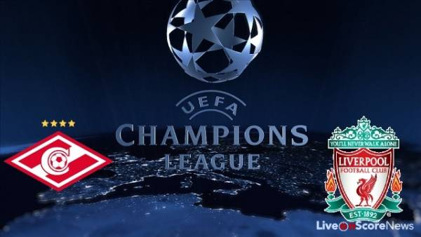 Spartak Moscow v Liverpool Betting Tip, Latest Odds September 26