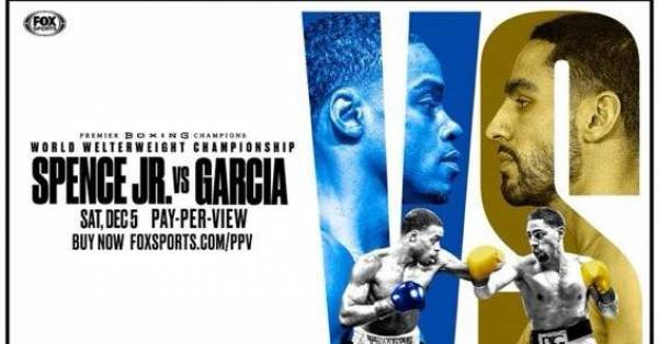 Where Can I Watch, Bet the Errol Spence Jr. vs. Danny Garcia Fight From Madison, Wisconsin?