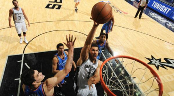 Spurs Thunder NBA Western Conference Finals Game 3 Betting Odds