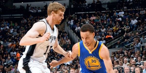 2017 Western Conference Championship Game 1: Spurs-Warriors Line