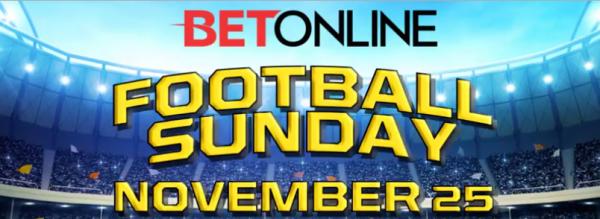 Sunday NFL Week 12 Betting Action 2018