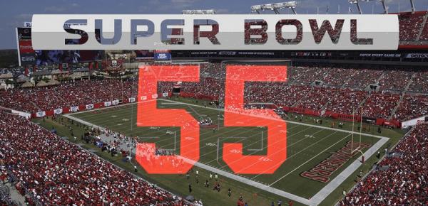 Super Bowl 55 Total Points Prop Bet
