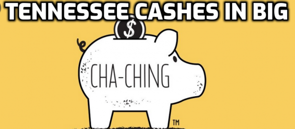 Tennessee Saw $131M in Nov. Sports Bets; $2.4M Tax Revenue