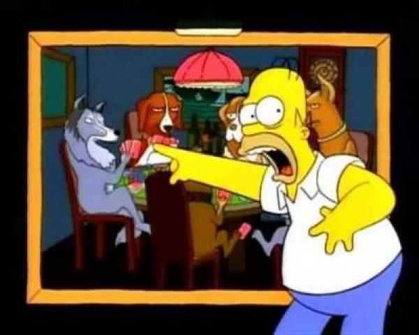 The Simpsons 2011 WSOP