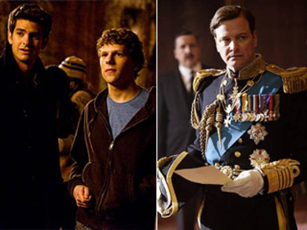 The Social Network vs. The Kings Speech Oscar Best Picture Odds