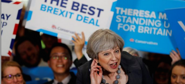 Theresa May Still Big 1-4 Favorite to Win UK Election