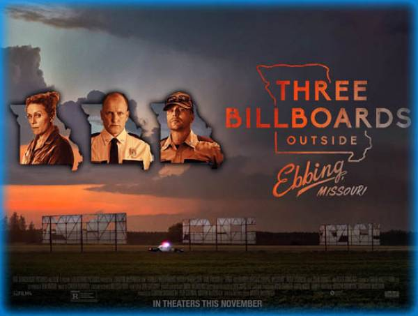 What Are the Odds of Three Billboards Winning the Oscar for Best Film?