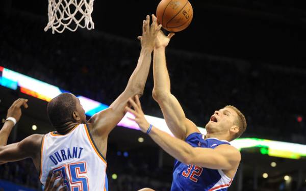 Thunder Clippers Game 4 Betting Line at LA -5