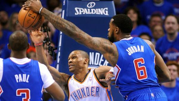Thunder vs. Clippers Game 6 Betting Line at Los Angeles -4.5