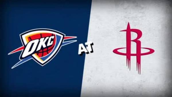 What is the Spread on the Thunder-Rockets Game Christmas Day - 2018
