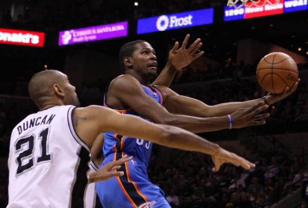 Thunder vs. Spurs Western Conference Finals Game 2 Betting Odds