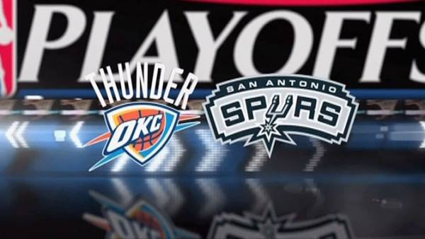 Thunder Spurs Game One Point Spread – 2014 Western Conference Finals