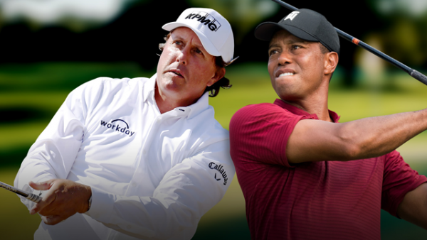 Tiger vs. Phil Betting Odds