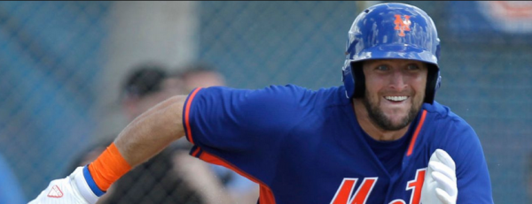 Tim Tebow Will Not Record a Hit for the Mets – Latest Odds