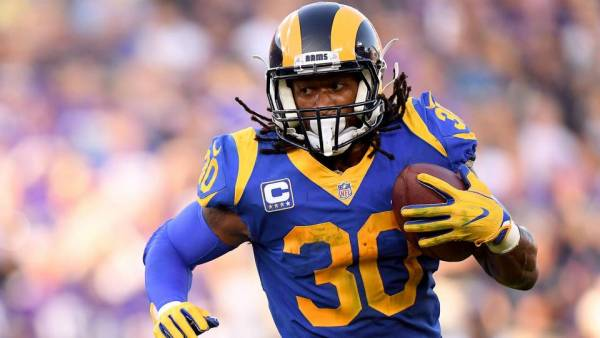 Total Receiving Yards for Todd Gurley Prop Bet 2019 Super Bowl