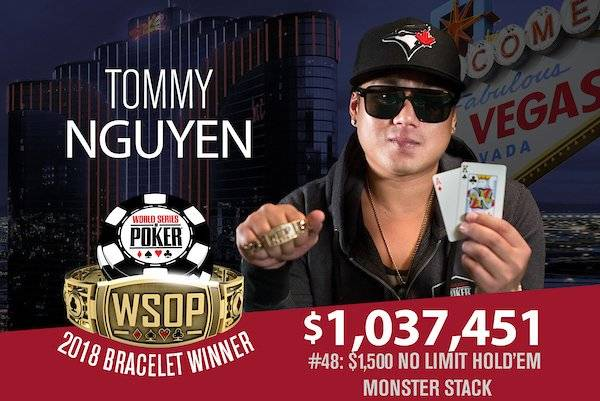 Tommy Nguyen Becomes 9th Millionaire Made at This Year's WSOP