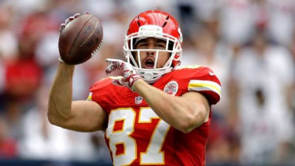Bet on Travis Kelce to Score a Touchdown vs. Broncos Thursday Night