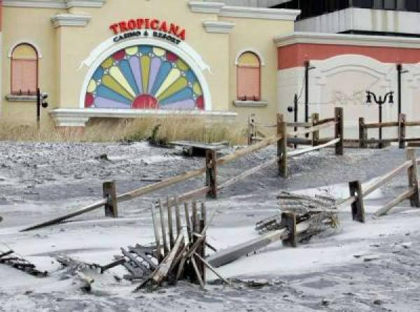 Atlantic City Casinos May Reopen Friday Morning Following Sandy's Wrath