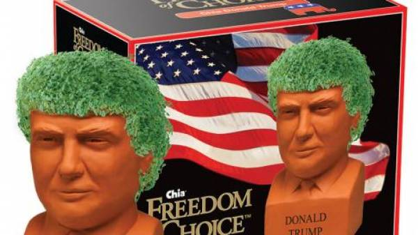 Give the Gift of Trump This Christmas…Not a Chia Trump…Bet Specials