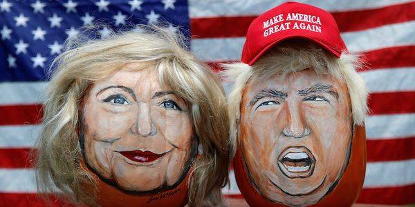 Election Day Afternoon Betting Odds Clinton-Trump