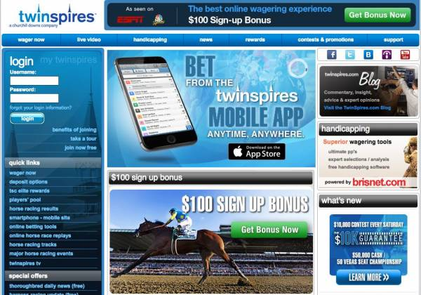 TwinSpires Refunding Maximum Security Bets Up to $10