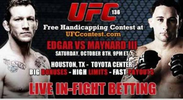 UFC 136 Betting Lines