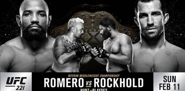 Top Pay Per Head for Rockhold vs. Romero, UFC 221