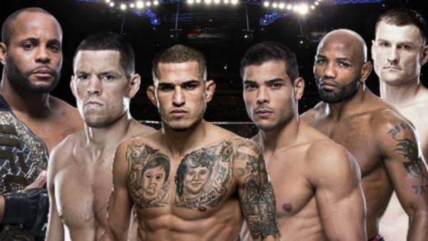Where Can I Bet Anthony Pettis vs. Nate Diaz Fight - UFC 241 From Milwaukee