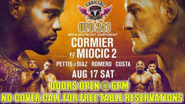 Where Can I Watch, Bet The Cormier vs Miocic Fight - UFC 241 - Wyoming