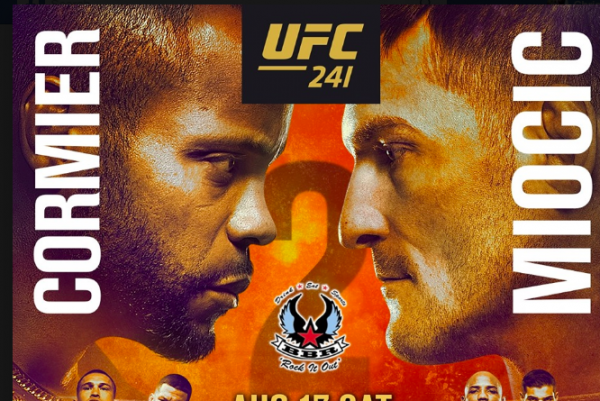Where Can I Watch, Bet The Cormier vs Miocic Fight - UFC 241 - Columbus, OH