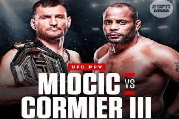 Where Can I Watch, Bet the Miocic vs Cormier 3 Fight UFC 252 From Louisville