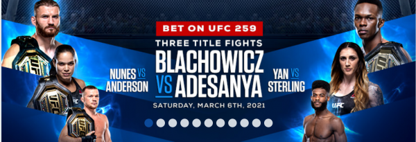 UFC 259 Prop Bets: Blanchowicz-Adesanya, Nunes-Anderson, More