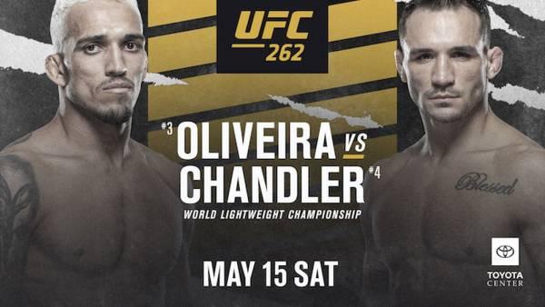 UFC 262 Betting Odds - Oliveira vs. Chandler