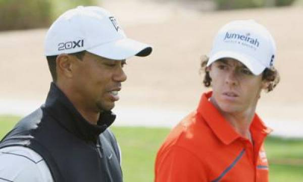 2012 US Masters Golf Matchups Odds:  Tiger Woods vs. Rory McIlroy