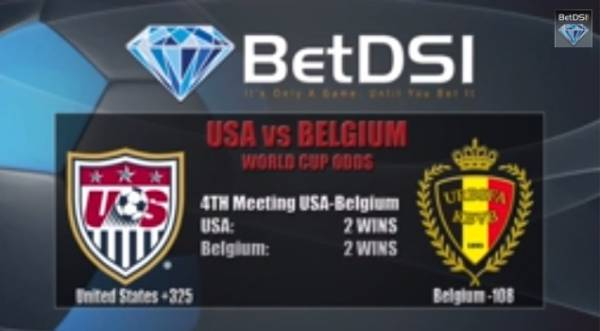 USA vs. Belgium World Cup Betting Odds and Predictions