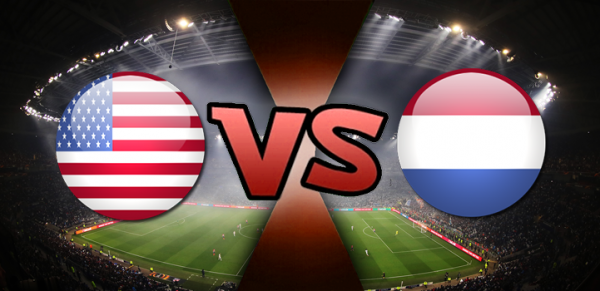 USA vs Netherlands Correct Score Betting, Method of Victory, Halftime - Fulltime