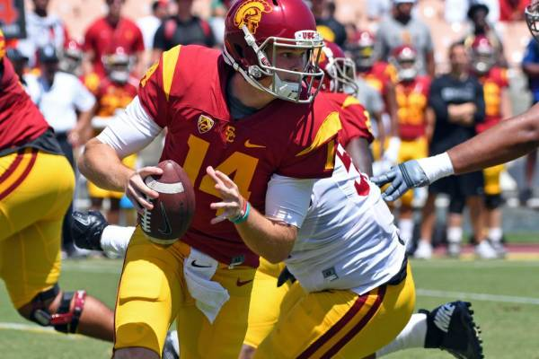 USA Today Re-Ranking USC 2017 Week 1– Latest Odds