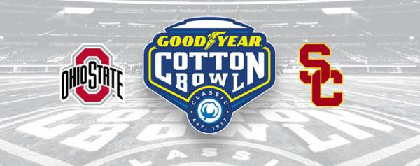 2017 Cotton Bowl Betting Odds - USC vs. Ohio State Latest Line