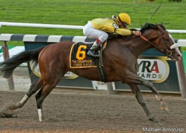 Union Rags Wins the 2012 Belmont Stakes