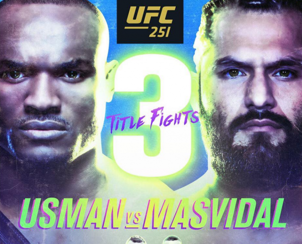 Where Can I Watch, Bet the Usman vs. Masvidal Fight UFC 251 From Dallas