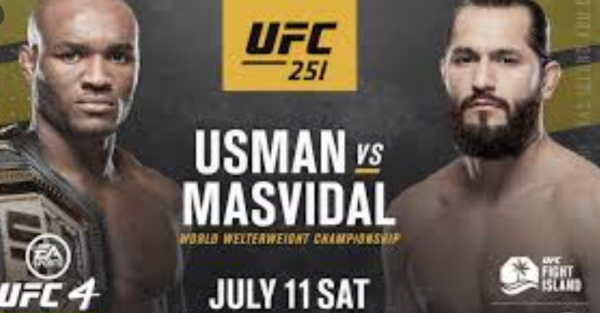 Where Can I Watch, Bet the Usman vs. Masvidal Fight UFC 251 From Austin