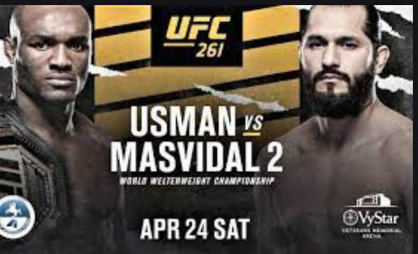 Where Can I Watch, Bet the Usman vs. Masvidal 2 UFC 261 Fight From Dallas