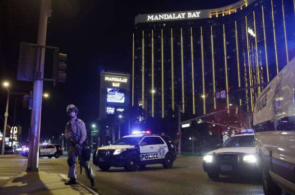 Las Vegas Strip Casino Revenue Down for Month After Shooting