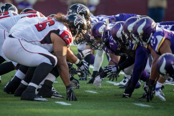 Vikings vs. Falcons Betting Odds, NFC North and South Odds – Week 13