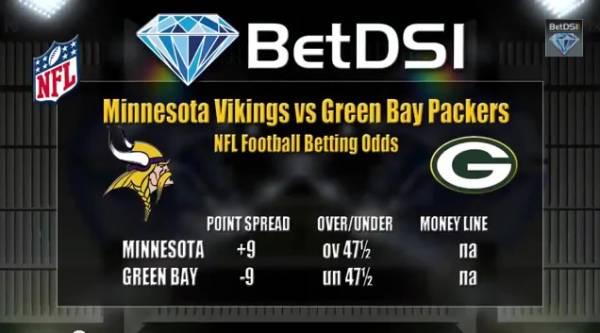 Vikings-Packers Betting Line – Prediction
